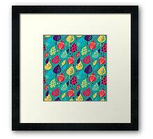 Colorful autumn Framed Print