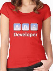 App Developer Women's Fitted Scoop T-Shirt