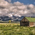 Mormon Row, Grand Teton National Park, Wyoming by LudaNayvelt