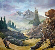 Drama at Mountain Pass by Chris J Worden Gregg