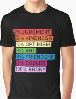 100% BRONY - MLP Graphic T-Shirt