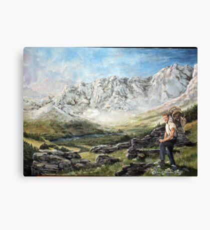 Alaska Range - Wordens Pass Canvas Print