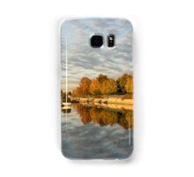 Autumn Splendor at the Marina Samsung Galaxy Case/Skin