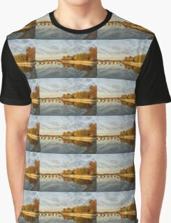 Autumn Splendor at the Marina Graphic T-Shirt