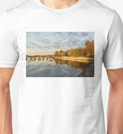 Autumn Splendor at the Marina Unisex T-Shirt