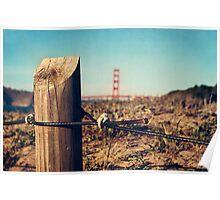 Baker Beach view Poster