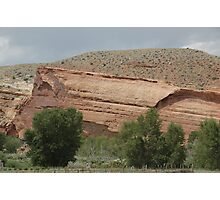 Red Rocks and Sage Photographic Print