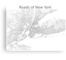 Roads of New York Canvas Print