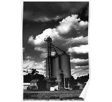 Grain Elevator Poster