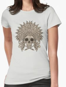 The Dead Chief Womens Fitted T-Shirt