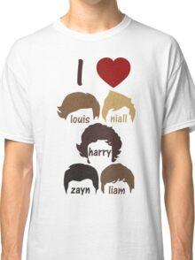 I Heart One Directlon Classic T-Shirt