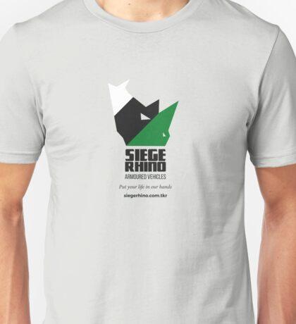 Siege Rhino Armoured Vehicles Unisex T-Shirt