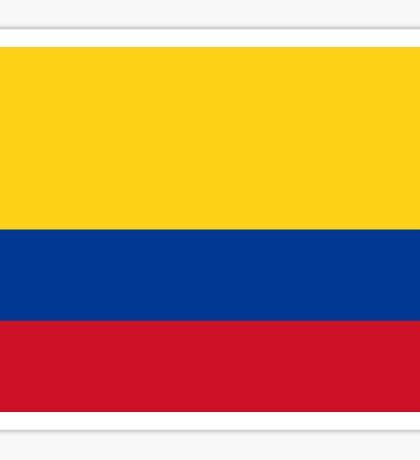 Colombia World Cup Flag Futbol Colombian T-Shirt Duvet Sticker Sticker