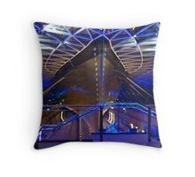 Cutty Sark Hull Throw Pillow