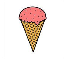Ice cream Photographic Print