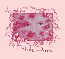 Think Pink Tee by Robin Monroe