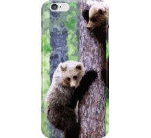 Wild nature - bears iPhone Case/Skin