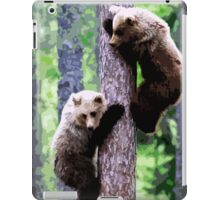 Wild nature - bears iPad Case/Skin