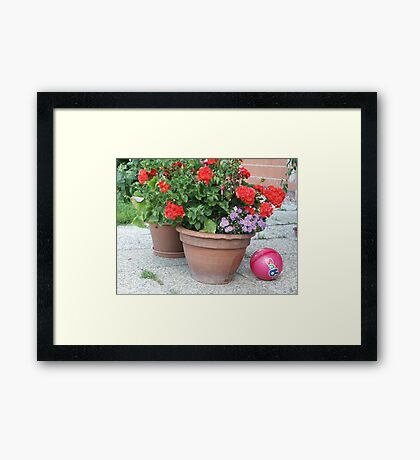 Stillleben Framed Print