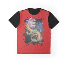 Beautiful Chinese Dragon Graphic T-Shirt
