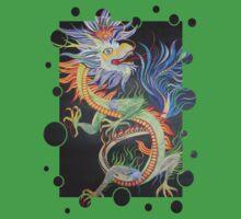 Beautiful Chinese Dragon One Piece - Short Sleeve