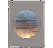 Genesis 1:14-19 iPad Case/Skin