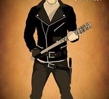 The Walking Dead - Negan & Lucille 2 by EVPOE