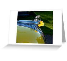 Pontiac Indian Head Greeting Card