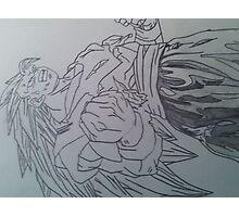 Goku super sayin 3  Photographic Print
