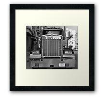 American Truck Framed Print