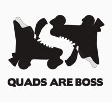 'Quads Are Boss' Tee by Nik Jones