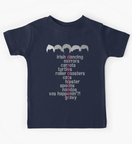 One Direction Acrostic Kids Tee
