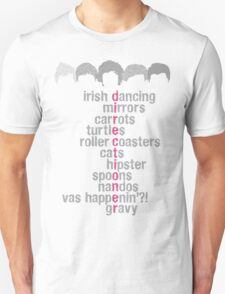 One Direction Acrostic T-Shirt