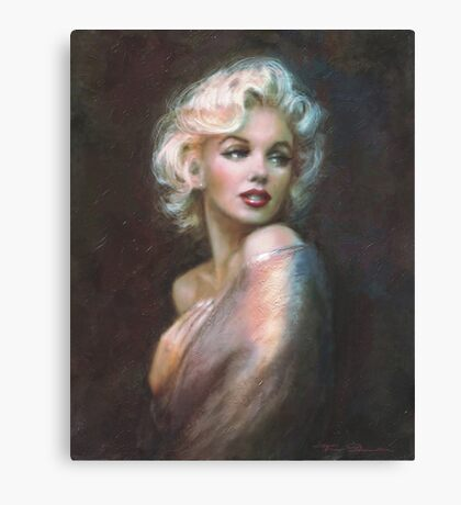 Marilyn WW  Canvas Print