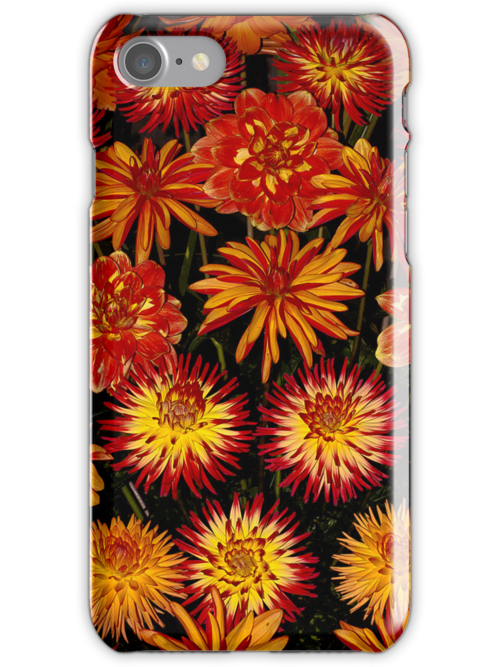 Flower power iPhone case by Martyn Franklin