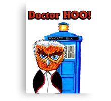 Doctor Hoo Canvas Print