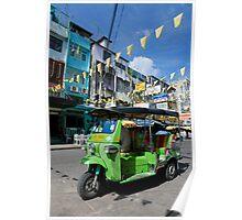 Khao San Road in Bangkok Poster
