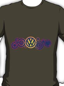 Dr Who VW Mash Up Tee - Gallifrey Volkswagen T-Shirt