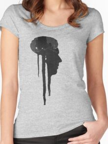 Dying Inside - Grunge T-Shirt Women's Fitted Scoop T-Shirt