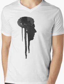 Dying Inside - Grunge T-Shirt Mens V-Neck T-Shirt