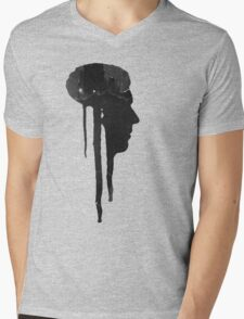 Dying Inside - Grunge T-Shirt Mens V-Neck T-Shirt