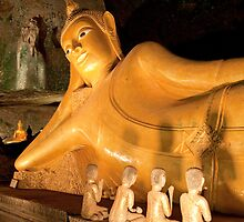 Wat Tham Suwakhuha, Phang-Nga, Thailand by Kerry Dunstone
