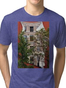 Scenes From Downtown Toronto - A Building Facade © Tri-blend T-Shirt