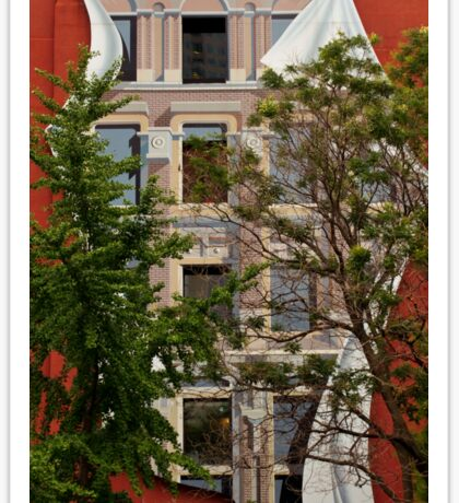 Scenes From Downtown Toronto - A Building Facade © Sticker