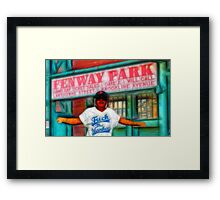 FOR YANKEE HATERS ONLY -BOSTON Framed Print