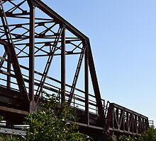 Texas bridges by Kate Farkas