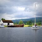 Approaching Caledonian Canal by triciamary