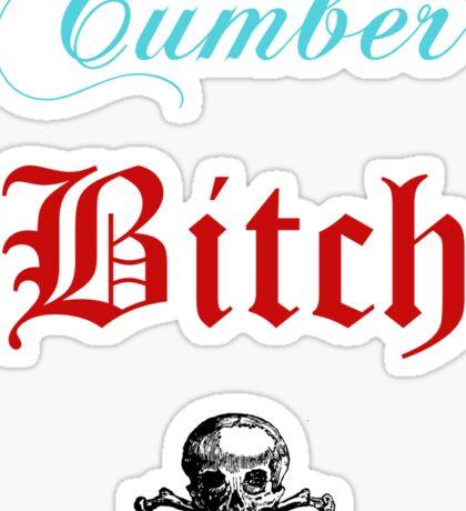 The Cumberbitch Club. Sticker