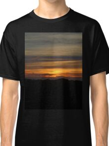 Orange Sunset Classic T-Shirt
