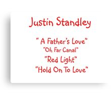 Justin Standley  Canvas Print